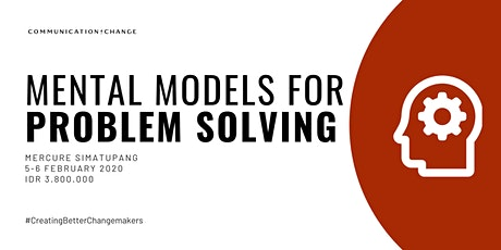 [Paid/Berbayar] Training: Mental Models for Problem Solving tickets