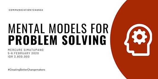 [Paid/Berbayar] Training: Mental Models for Problem Solving