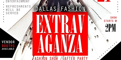 DALLAS FASHION EXTRAVAGANZA FASHION SHOW/AFTERPARTY 2020
