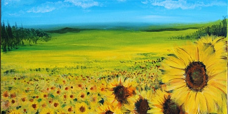 Chill & Paint Night  Auck City Hotel  - Sun Flower Field tickets