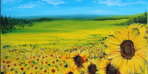 Chill & Paint Night  Auck City Hotel  - Sun Flower Field
