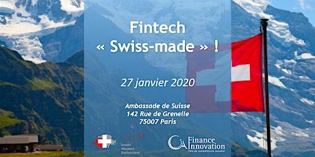 Fintech « Swiss-made » ! billets