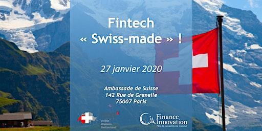 Fintech « Swiss-made » !