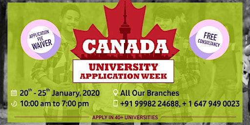 Canada University Application Week in Vadodara