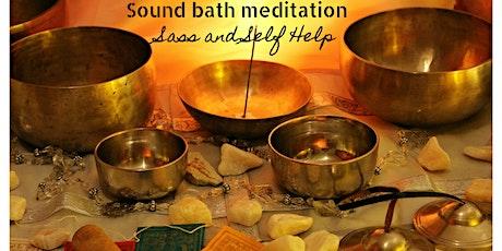 Sound bath immersion tickets