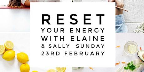 Reset your Energy Workshop tickets
