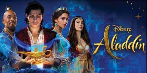 Aladdin (2019) - Open Air Cinema - Essex Alfresco Cinema