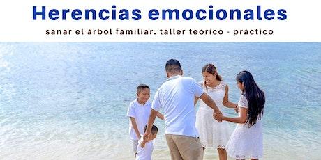 Taller vivencial: Herencias emocionales. Sanar el árbol familiar. entradas