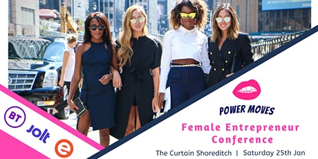 POWER MOVES - From side hustle to empire in 2020 tickets
