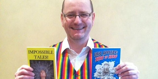 Meet Dan Worsley ~ Children's author and Storyteller (Knott End)