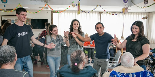 JLM: A disco party with special needs people- מסיבת דיסקו עם אנשים עם צרכים מיוחדים