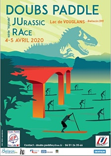 Doubs Paddle /  FFSportU / Club de Voile de Vouglans logo