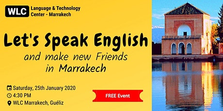 Speak English and Make New Friends In Marrakech (FREE) tickets