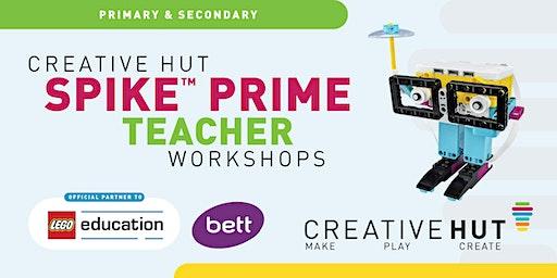 LEGO® Education SPIKE ™ Prime BETT 2020 Workshop with iCodeRobots