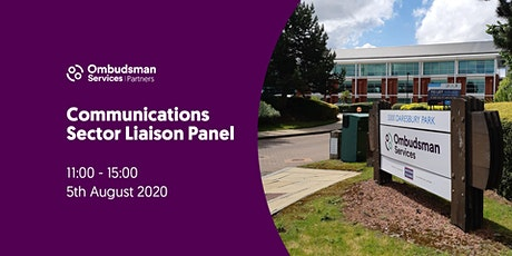 Ombudsman Services Communications Sector Liaison Panel tickets