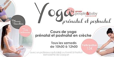 Cours de yoga en crèche - Grenoble  billets