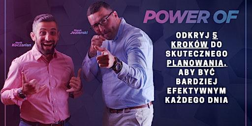 Power of.....PLANOWANIE