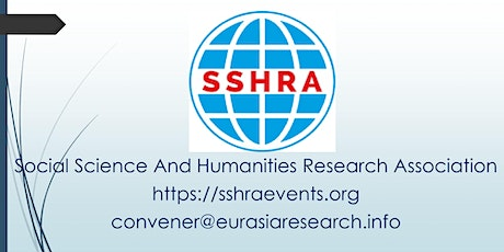 4th London– International Conference on Social Science & Humanities (ICSSH) tickets