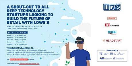 Lowe's Innovation Labs 2020 Cohort tickets