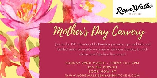 Mother's Day Bottomless Carvery 2020