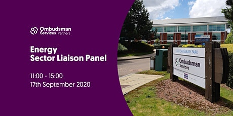 Ombudsman Services Energy Sector Liaison Panel tickets