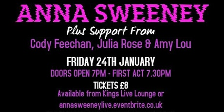 Anna Sweeney Live tickets