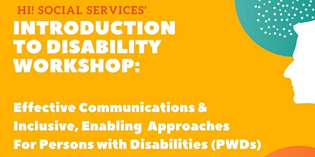 Introduction to Disability Workshop tickets
