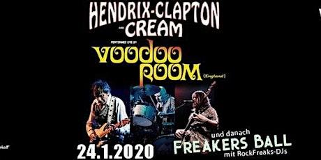 Voodoo Room - A Night Of Hendrix, Clapton & Cream [Schüler-/StudentInnen Ticket] Tickets