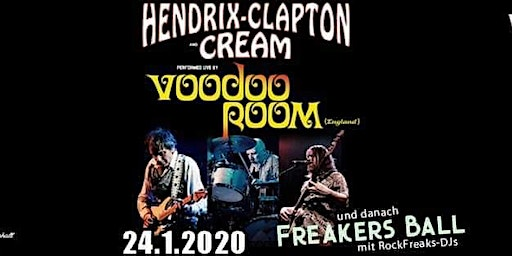 Voodoo Room - A Night Of Hendrix, Clapton & Cream [Schüler-/StudentInnen Ticket]