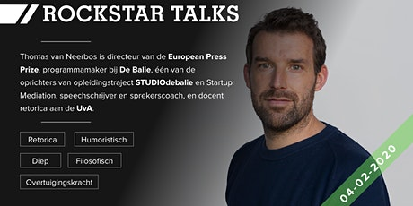 Rockstar Talk s4e1 // Thomas van Neerbos tickets