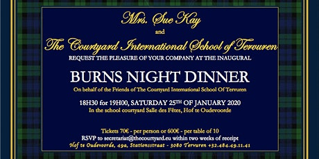 Burns Night Dinner tickets