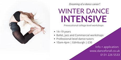 Winter Dance Intensive tickets