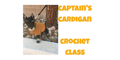 Captain's Dog Cardigan