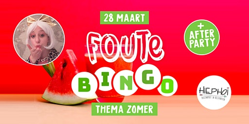 Foute Zomer Bingo | City Theater