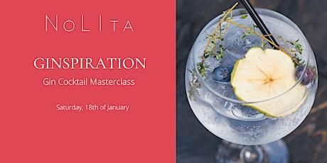 Ginspiration: Gin Cocktail Masterclass at NoLIta tickets