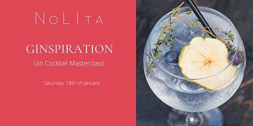 Ginspiration: Gin Cocktail Masterclass at NoLIta