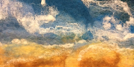 Felted Seascapes -  An Introduction to Wet Feltmaking