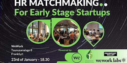 HR Matchmaking for early stage startups