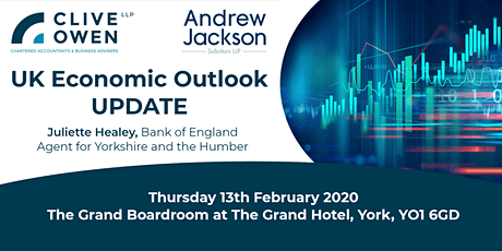 UK Economic Outlook Update: Juliette Healey, Bank of England tickets