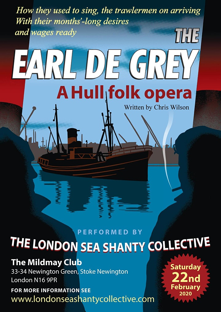 The Earl de Grey: a Hull Folk Opera (second show) image