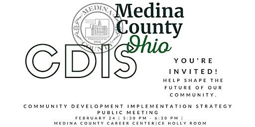 Community Development Implementation Strategy Public Meeting