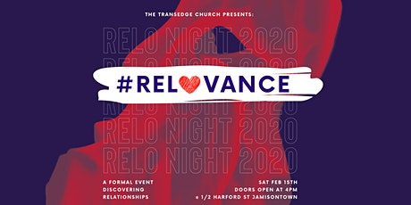 RELO NIGHT - #RELOVANCE 'Discovering Relationships' tickets