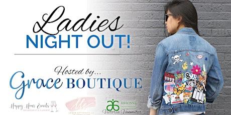 Lady's Night Out Jean Jacket Event tickets