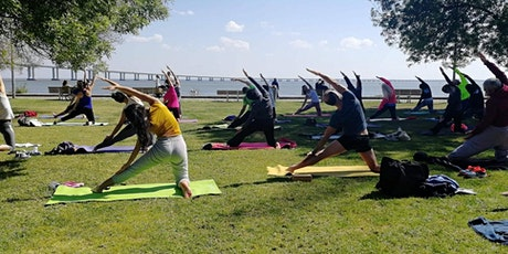 Outdoor Yoga Class at Parque das Nações tickets