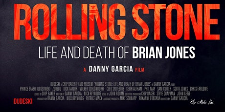 """""""Rolling Stone Life and Death of Brian Jones"""" film screening in Seattle tickets"""