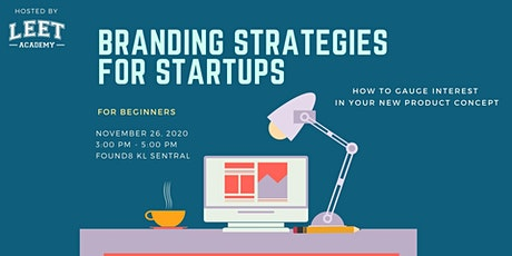 Branding Strategies For Startups tickets