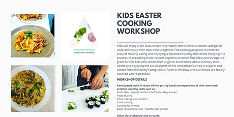 KIDS EASTER COOKING WORKSHOP  tickets