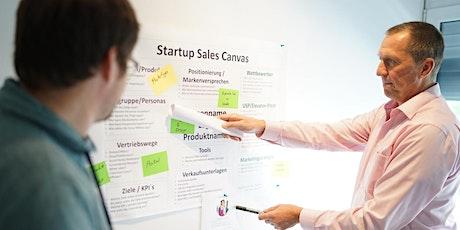 Das Startup Sales Canvas: dein Vertriebsmodell kompakt Tickets