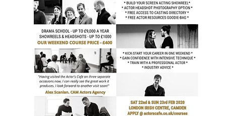 The Actor's Cafe Weekend Course tickets