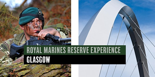 Royal Marines Reserve Experience event - Glasgow